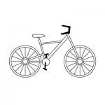 كيفية رسم دراجة