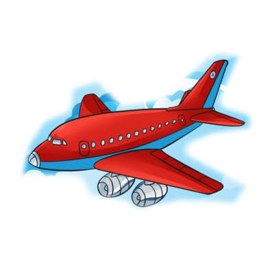 تعلم رسم طائرة