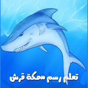 تعلم رسم القرش