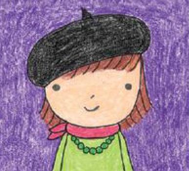 تعلم رسم فتاة خطوة بخطوة