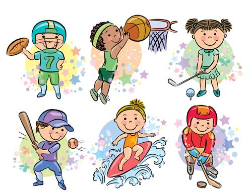 تعليم رسم الرياضيين