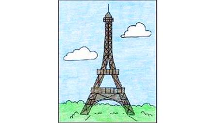 أشير قبرة الصفة طريقه رسم برج ايفل Dsvdedommel Com