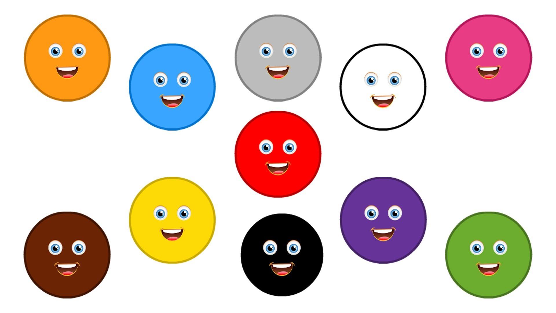 цвета в картинках для малышей