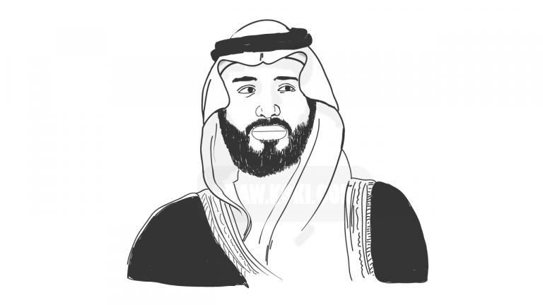 رسم ولي العهد محمد بن سلمان